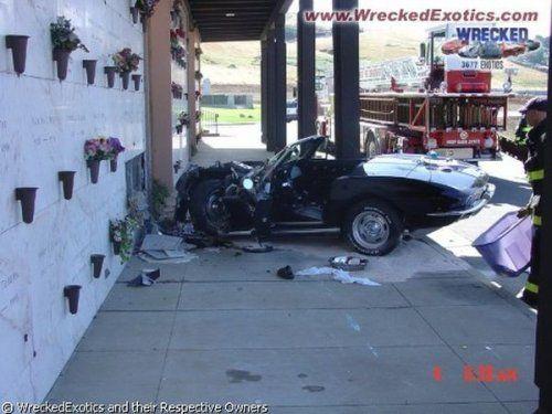 Аварии самых дорогих автомобилей - фото 1
