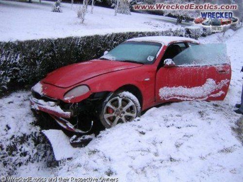 Аварии самых дорогих автомобилей - фото 26