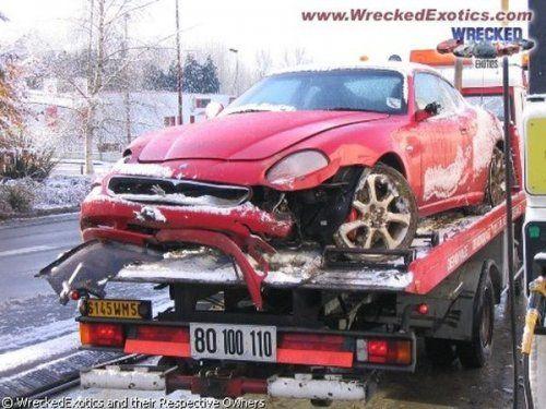 Аварии самых дорогих автомобилей - фото 3