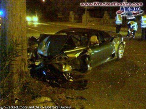 Аварии самых дорогих автомобилей - фото 36