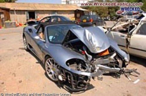 Аварии самых дорогих автомобилей - фото 9