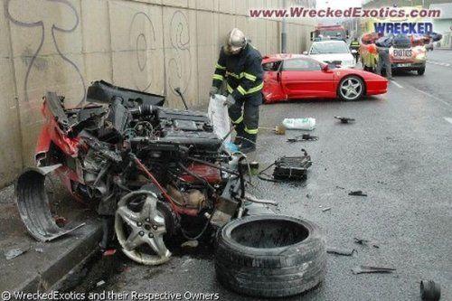 Аварии самых дорогих автомобилей - фото 11