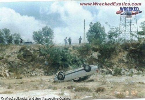 Аварии самых дорогих автомобилей - фото 23