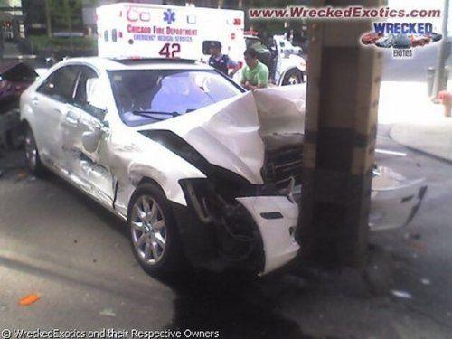Аварии самых дорогих автомобилей - фото 6