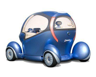 Nissan представит вторую модель концепта Pivo - фото 4