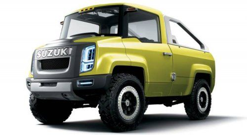 Футуристический концепт Suzuki X-HEAD - фото 2