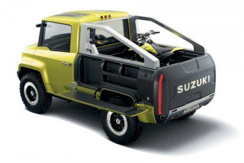 Футуристический концепт Suzuki X-HEAD - фото 5