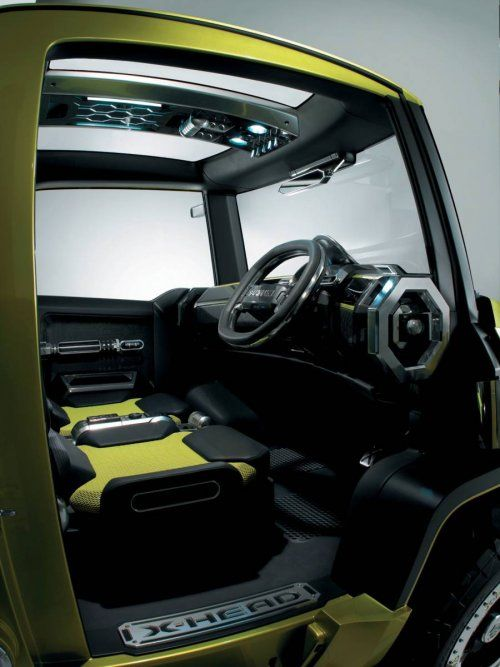 Футуристический концепт Suzuki X-HEAD - фото 4