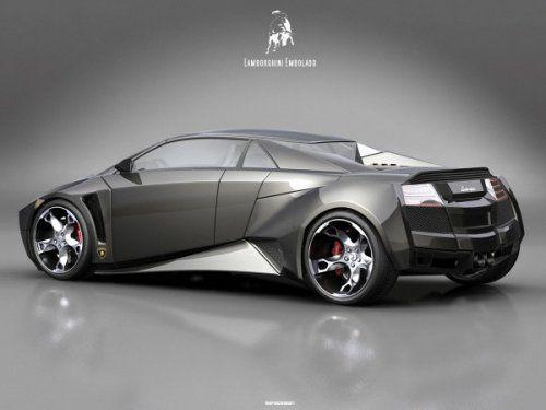 Самый космический концепт Lamborghini Embolado - фото 4