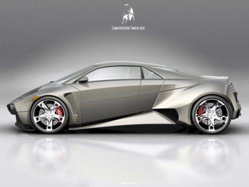 Самый космический концепт Lamborghini Embolado - фото 2