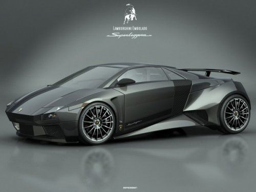 Самый космический концепт Lamborghini Embolado - фото 3