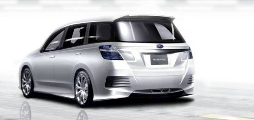 Subaru готовит футуристический Exiga Concept - фото 2