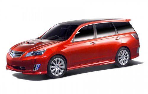 Subaru готовит футуристический Exiga Concept - фото 6
