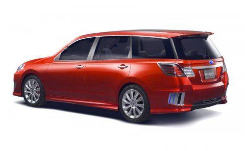 Subaru готовит футуристический Exiga Concept - фото 4