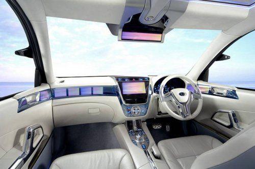 Subaru готовит футуристический Exiga Concept - фото 1