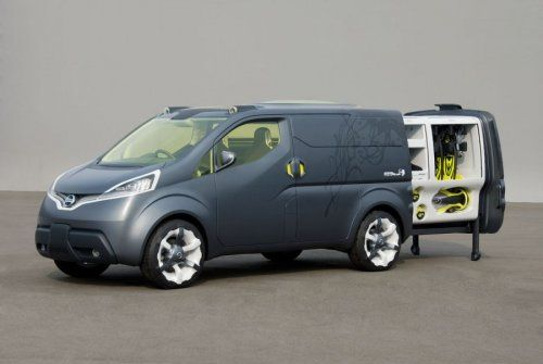 Nissan показал NV200 Concept - фото 17