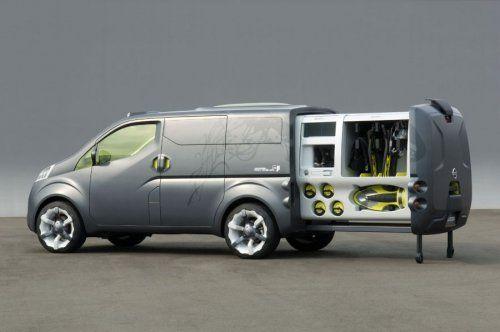 Nissan показал NV200 Concept - фото 9