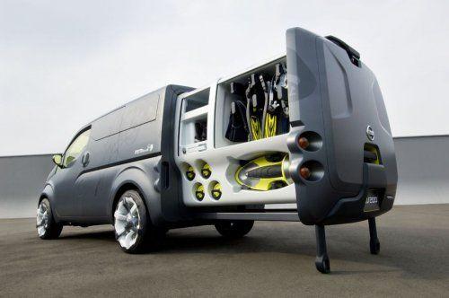 Nissan показал NV200 Concept - фото 12