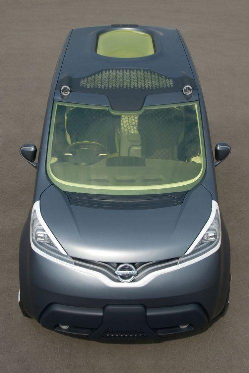 Nissan показал NV200 Concept - фото 8