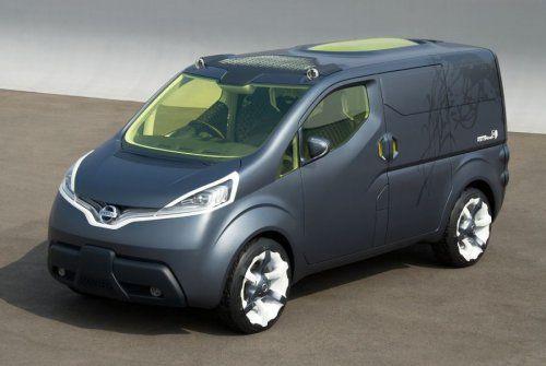 Nissan показал NV200 Concept - фото 5