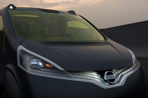 Nissan показал NV200 Concept - фото 3