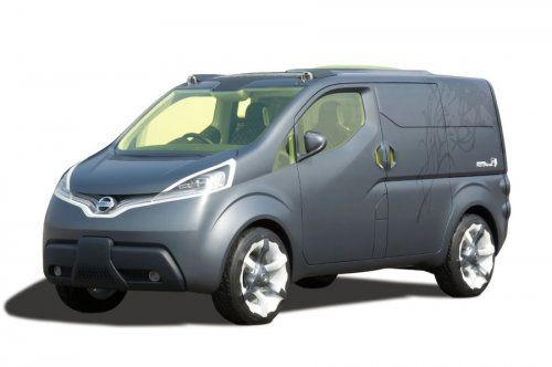 Nissan показал NV200 Concept - фото 11