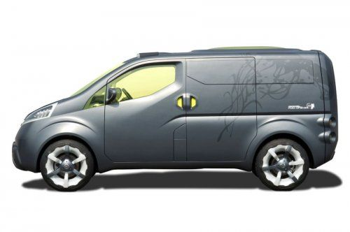 Nissan показал NV200 Concept - фото 4