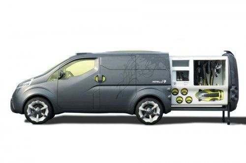 Nissan показал NV200 Concept - фото 14
