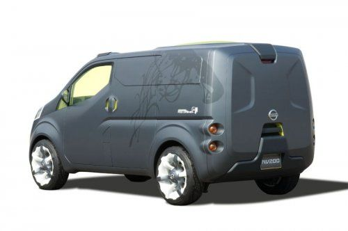 Nissan показал NV200 Concept - фото 15