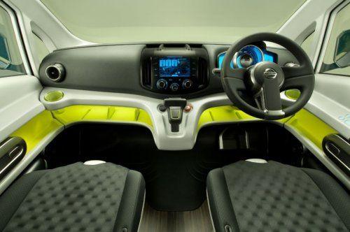 Nissan показал NV200 Concept - фото 13