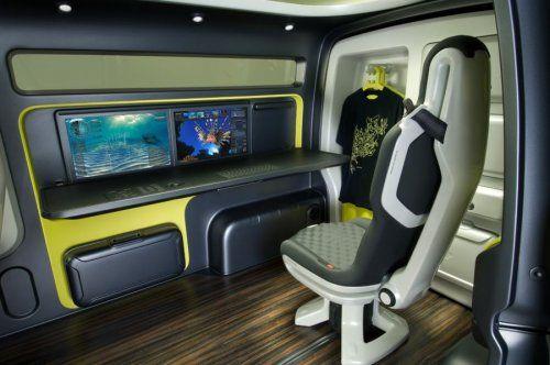 Nissan показал NV200 Concept - фото 16