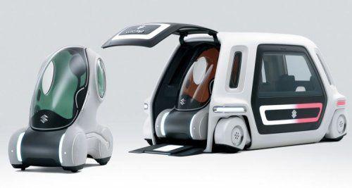 Настоящий трансформер Suzuki Sustainable Mobility Concept - фото 4