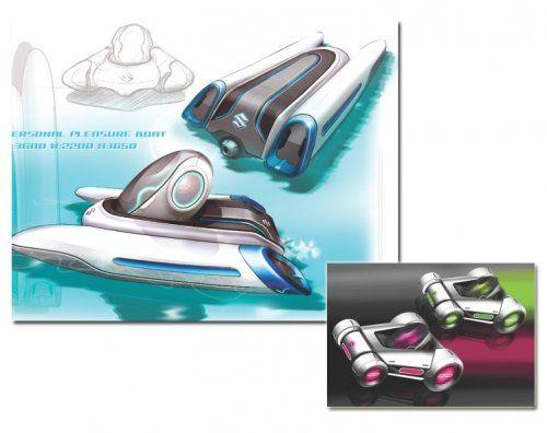 Настоящий трансформер Suzuki Sustainable Mobility Concept - фото 9