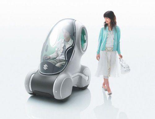 Настоящий трансформер Suzuki Sustainable Mobility Concept - фото 6