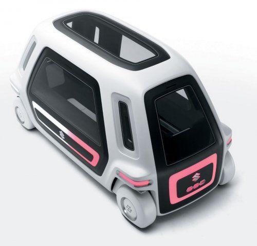 Настоящий трансформер Suzuki Sustainable Mobility Concept - фото 1