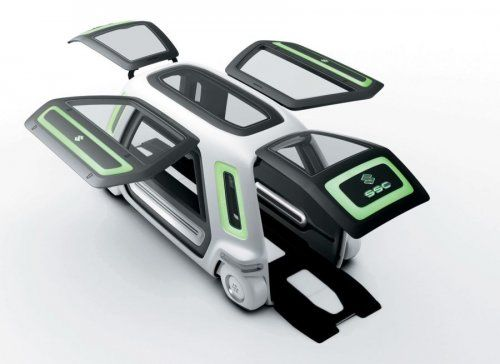 Настоящий трансформер Suzuki Sustainable Mobility Concept - фото 7