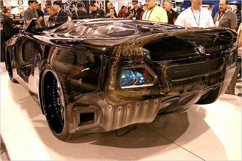 Хороший тюнинг на базе BMW6  - фото 2