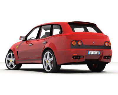 Ferrari построят внедорожник - фото 4