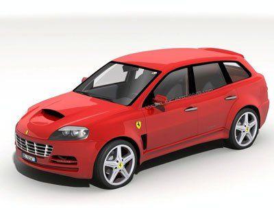Ferrari построят внедорожник - фото 2