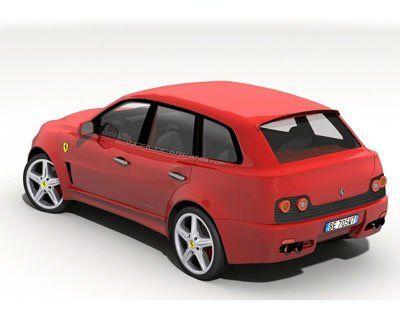 Ferrari построят внедорожник - фото 3